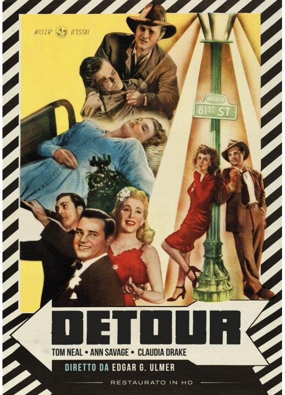 Detour (1945) (Noir d'Essai, Restaurato in HD, n/b)