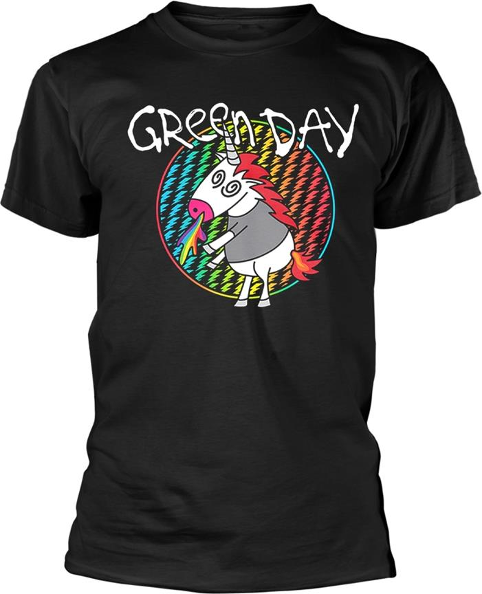 Green Day - Checker Unicorn - Size S