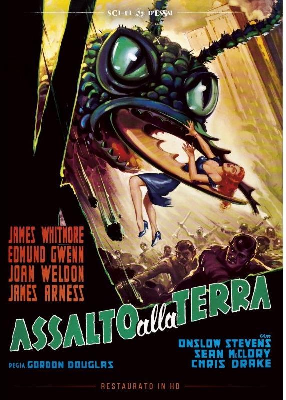 Assalto alla terra (1954) (Sci-Fi d'Essai, Restaurato in HD, n/b)