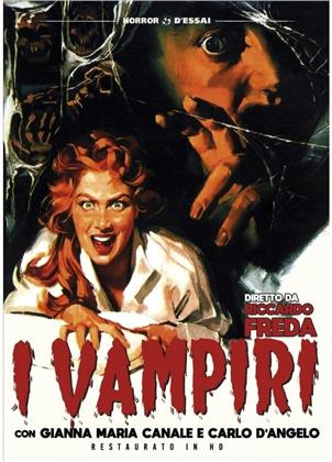 I vampiri (1956) (Horror d'Essai, restaurato in HD, s/w)