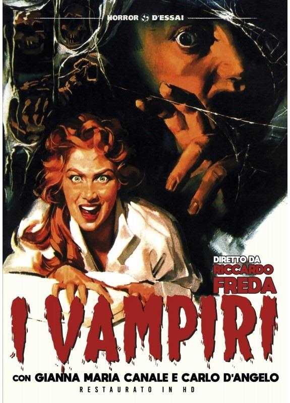I vampiri (1956) (Horror d'Essai, Restaurato in HD, n/b)