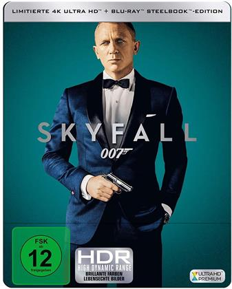 James Bond: Skyfall (2012) (Edizione Limitata, Steelbook, 4K Ultra HD + Blu-ray)
