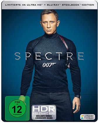 James Bond: Spectre (2015) (Edizione Limitata, Steelbook, 4K Ultra HD + Blu-ray)
