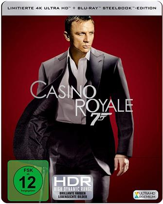 James Bond: Casino Royale (2006) (Edizione Limitata, Steelbook, 4K Ultra HD + Blu-ray)