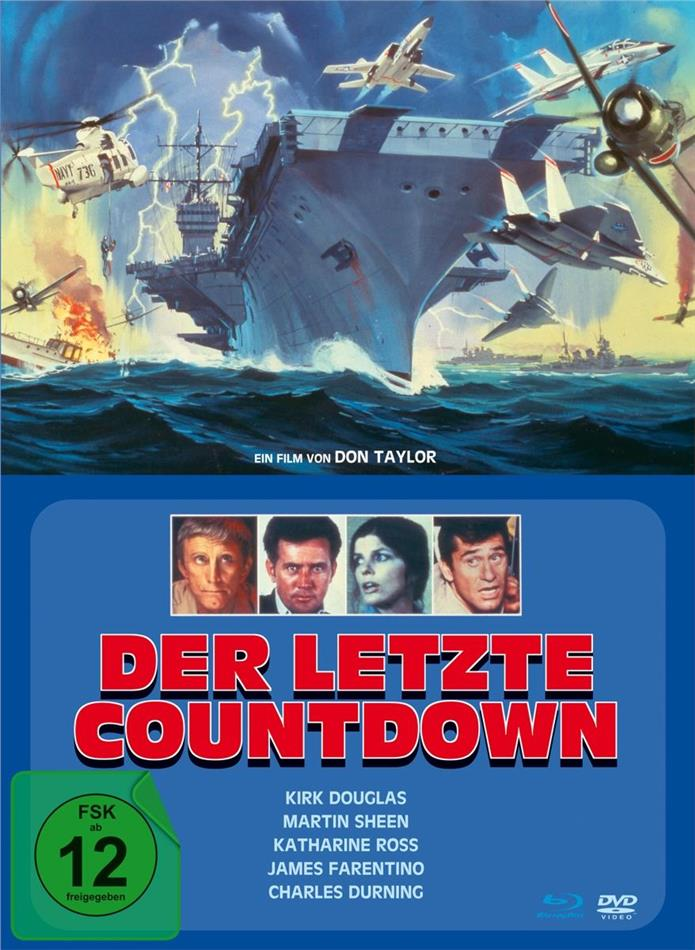 Der letzte Countdown (1980) (Limited Edition, Mediabook, Blu-ray + DVD)