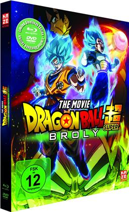 Dragon Ball Super - Broly (2018) (Edizione Limitata, Steelbook, Blu-ray + DVD)