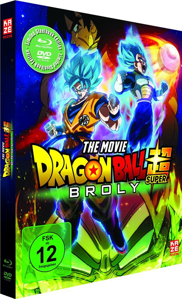 Dragon Ball Super - Broly (2018) (Limited Edition, Steelbook, Blu-ray + DVD)