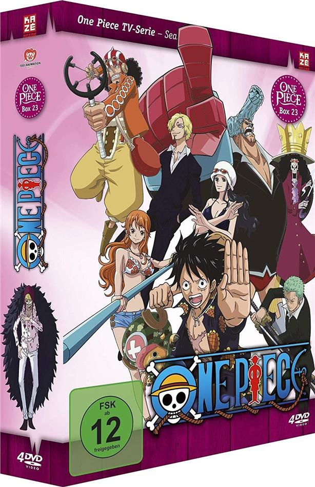 One Piece - TV-Serie - Box 23 (4 DVDs)