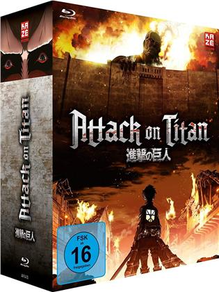 Attack on Titan - Staffel 1 (Gesamtausgabe, 4 Blu-rays)