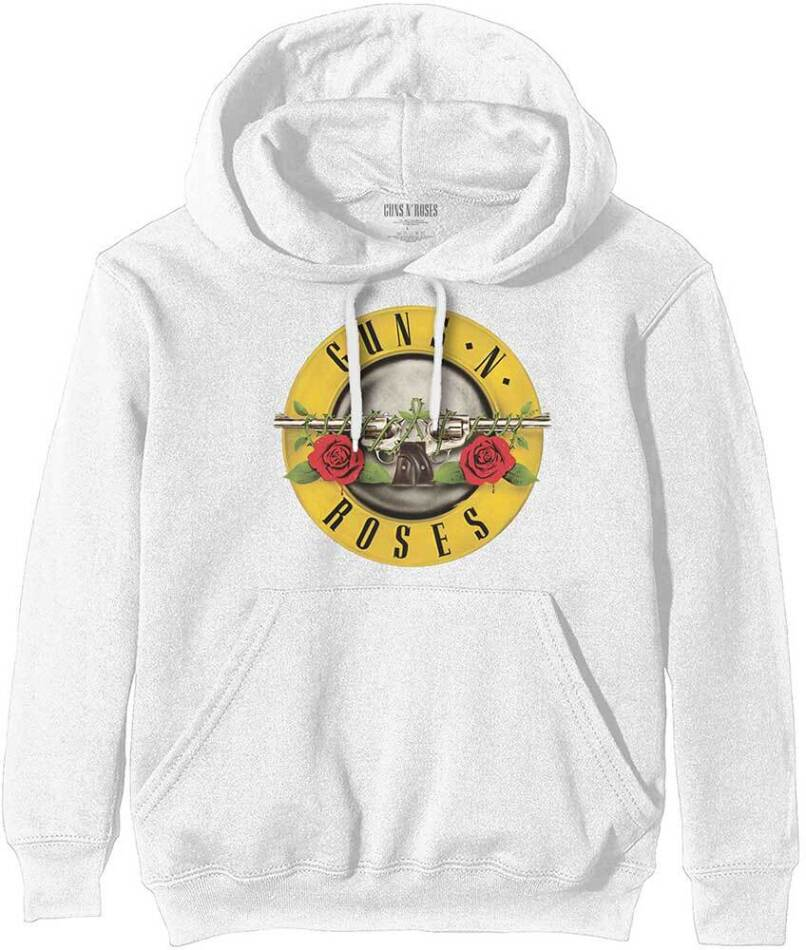 Guns N' Roses Pullover Hoodie - Classic Logo - Size M