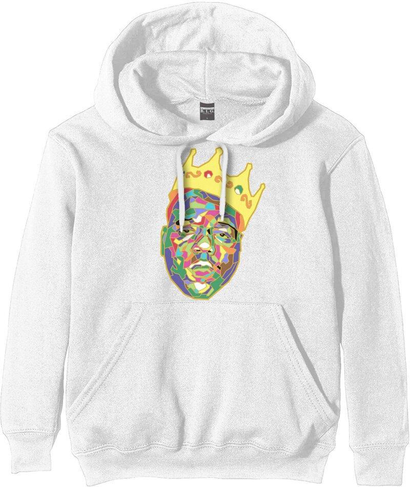 Biggie Smalls Unisex Pullover Hoodie - Crown - Size M