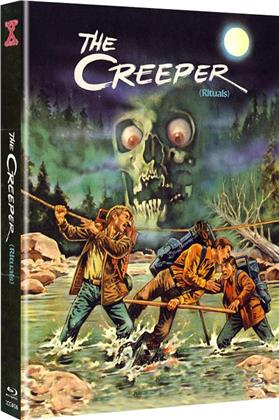 The Creeper (1977) (Cover A, Limited Edition, Mediabook, Uncut, Blu-ray + DVD)