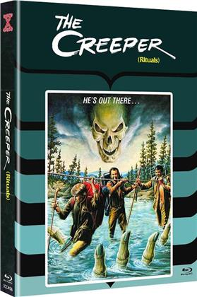 The Creeper (1977) (Cover B, Limited Edition, Mediabook, Uncut, Blu-ray + DVD)