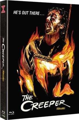 The Creeper (1977) (Cover C, Edizione Limitata, Mediabook, Uncut, Blu-ray + DVD)