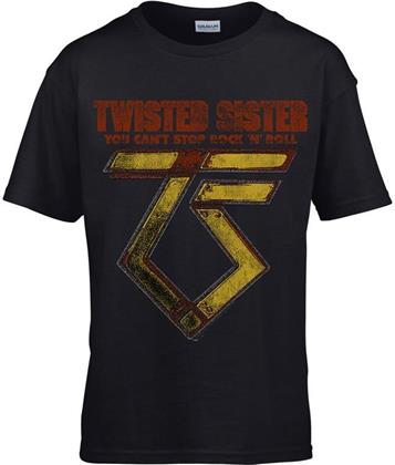 Twisted Sister - You Can't Stop Rock 'N' Roll (Kids 11-12) - Grösse XL