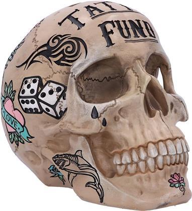 Generic Piggy Bank - Tattoo Fund (Bone)