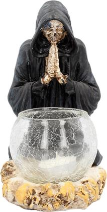 Generic Candle Holder - Reapers Prayer (19.5Cm Candle Holder)