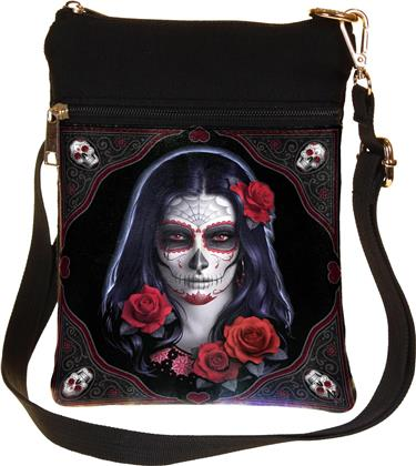 Generic Bag - Sugar Skull (23Cm Shoulder Bag)