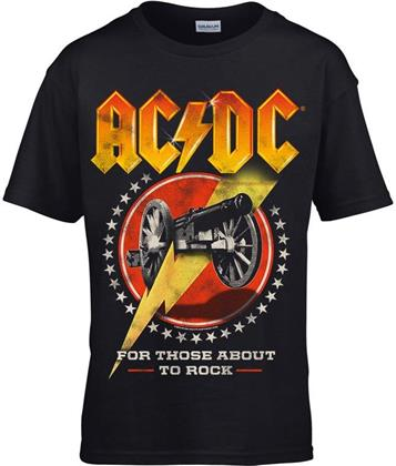AC/DC - For Those About To Rock New (Kids 11-12) - Grösse XL