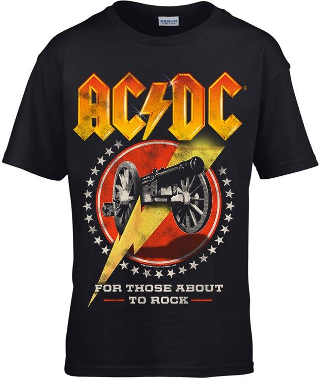 AC/DC - For Those About To Rock New (Kids 7-8) - Grösse M