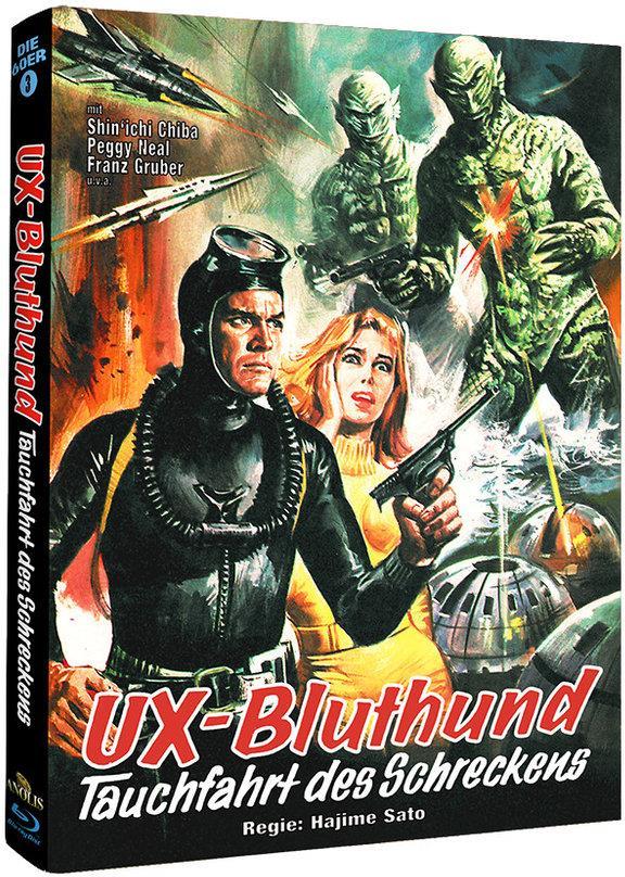 UX-Bluthund - Tauchfahrt des Schreckens (1966) (Phantastische Filmklassiker, Cover B, Mediabook)