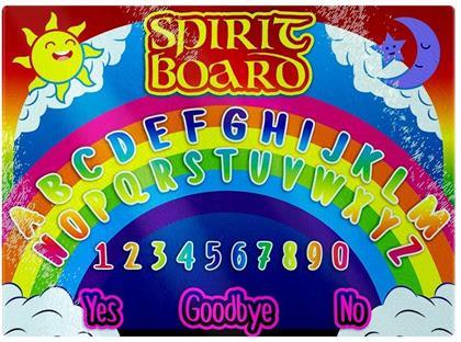 Psychedelic Spirit Board - Glass Chopping Board