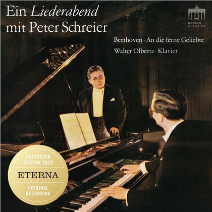 Ludwig van Beethoven (1770-1827), Peter Schreier & Walter Olbertz - Ein Liederabend Mit Peter Schreier