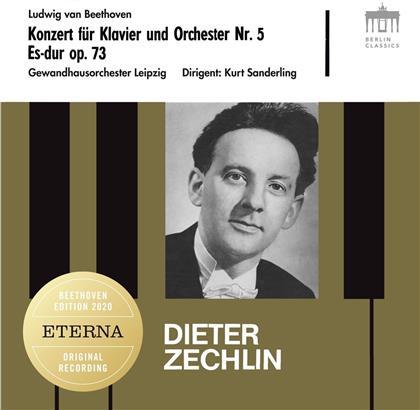 Ludwig van Beethoven (1770-1827), Kurt Sanderling, Dieter Zechlin & Gewandhausorchester Leipzig - Klavierkonzert Nr. 5, Klaviersonate Nr. 26 Les Adieux