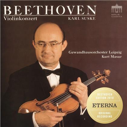 Ludwig van Beethoven (1770-1827), Kurt Masur, Heinz Bongartz, Karl Suske & Gewandhausorchester Leipzig - Violinkonzert, Romanzen für Violine und Orchester