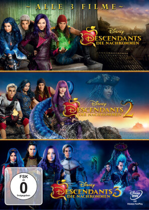 Descendants 1-3 (3 DVDs)
