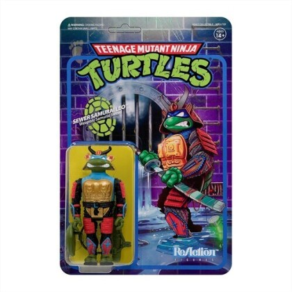 Teenage Mutant Ninja Turtles - Samurai Leonardo Wave 3
