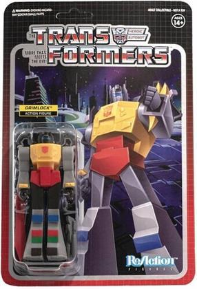 Transformers Reaction Figures Wave 2 - Grimlock