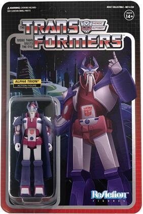Transformers Reaction Figures Wave 2 - Alpha Trion