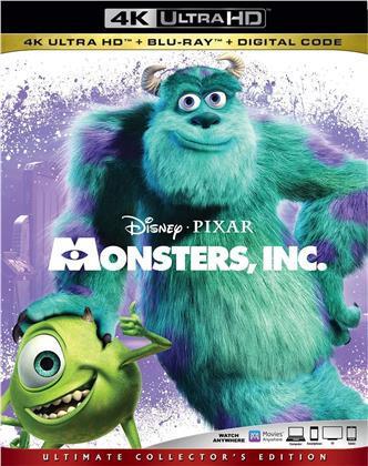 Monsters, Inc. (2001) (Ultimate Collector's Edition, 4K Ultra HD + Blu-ray)