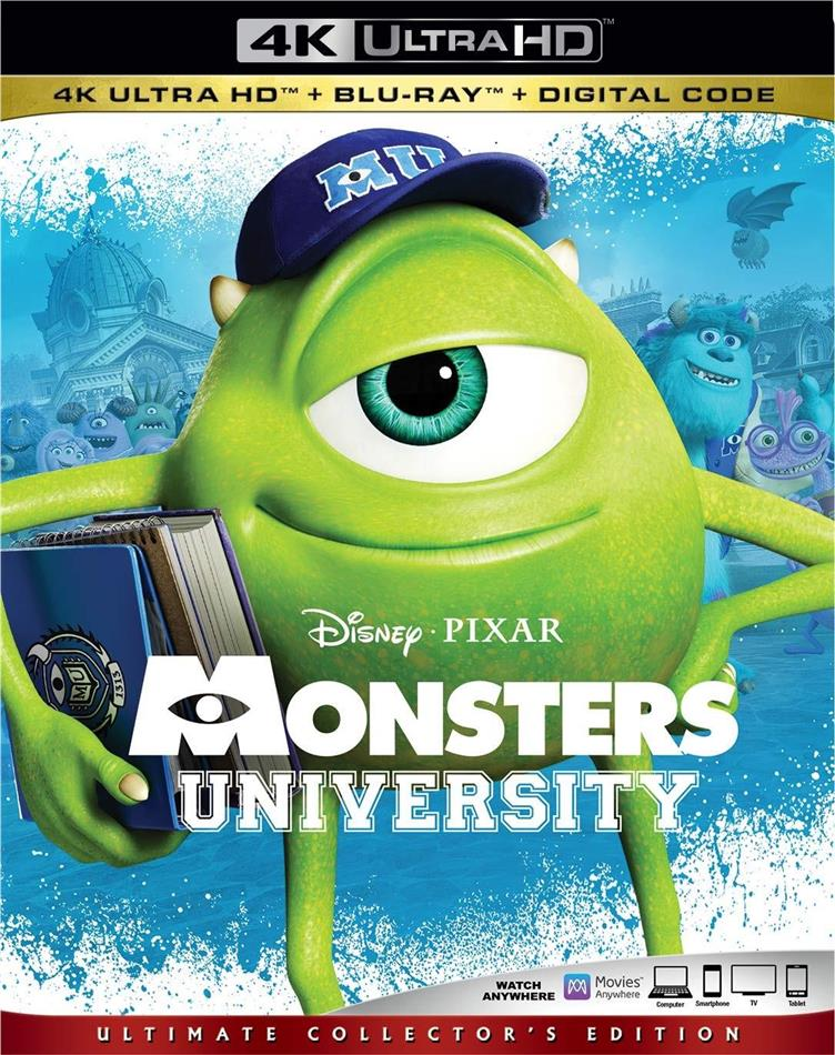 Monsters University (2013) (Ultimate Collector's Edition, 4K Ultra HD + Blu-ray)