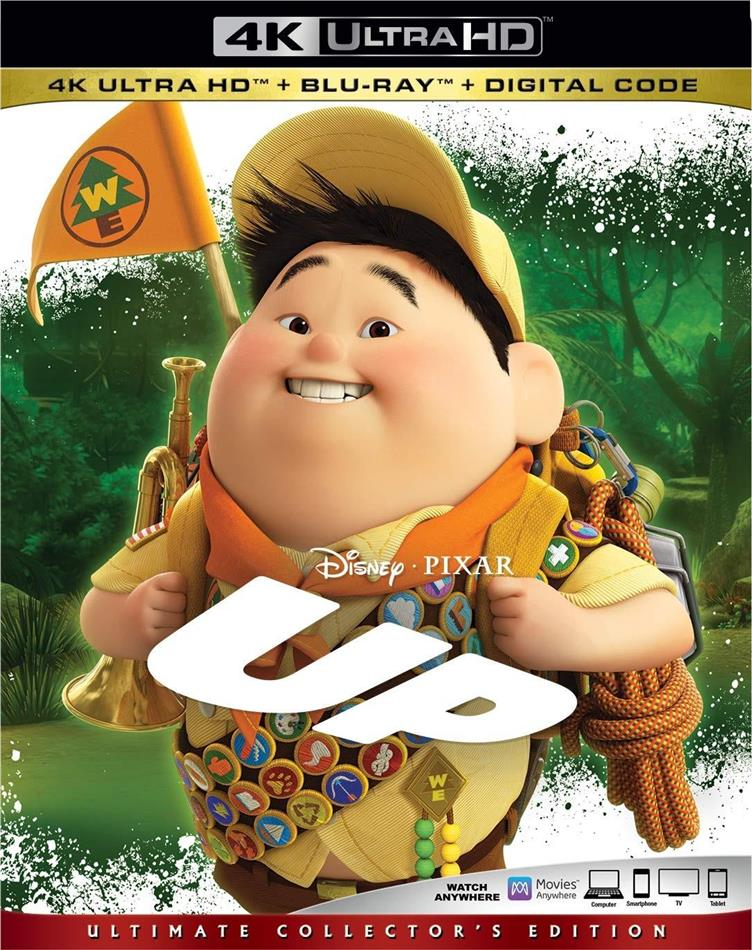 UP (2009) (Ultimate Collector's Edition, 4K Ultra HD + Blu-ray)