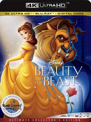 Beauty and the Beast (1991) (The Walt Disney Signature Collection, Ultimate Collector's Edition, 4K Ultra HD + Blu-ray)