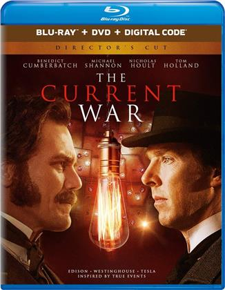 The Current War (2017) (Blu-ray + DVD)