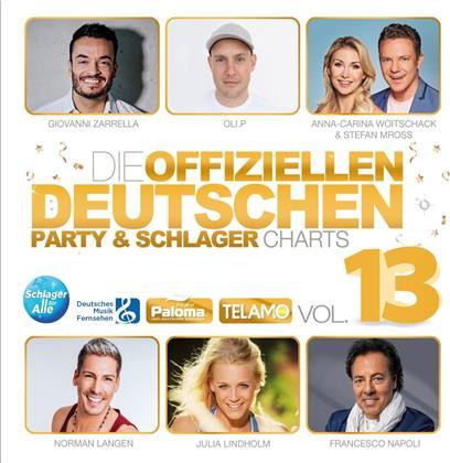 Die offiziellen deutschen Party & Schlager Charts Vol.13 (2 CDs)