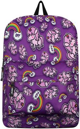 Offensive Unicorn Rainbow Backpack