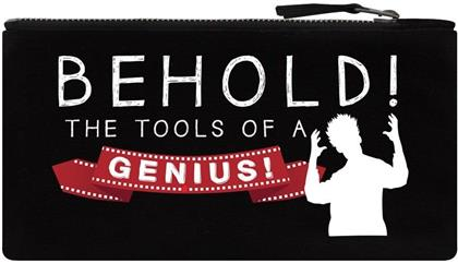 Behold! The Tools of a Genius - Pencil Case
