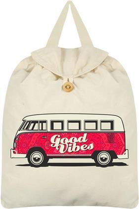Good Vibes - Cream Festival Backpack