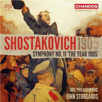 BBC Philharmonic, Dimitri Schostakowitsch (1906-1975) & John Storgards - Symphony 11 (Hybrid SACD)