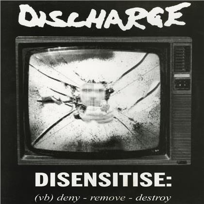 Discharge - Disensitise (2020 Reissue, Cleopatra, Limited, White Vinyl)