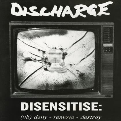 Discharge - Disensitise (2020 Reissue, Cleopatra, Bonustrack, + Bonustrack, LP)