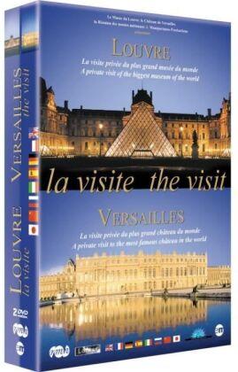 La visite - The visit - Louvre / Versaille (2 DVDs)