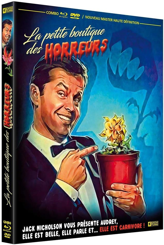 La petite boutique des horreurs (1960) (s/w, Blu-ray + DVD)