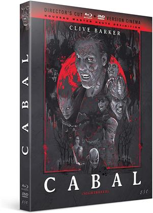 Cabal (1990) (Nouveau Master Haute Definition, Director's Cut, Versione Cinema, Blu-ray + DVD)