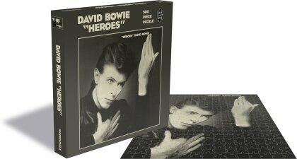 David Bowie - Heroes (500 Piece Jigsaw Puzzle)
