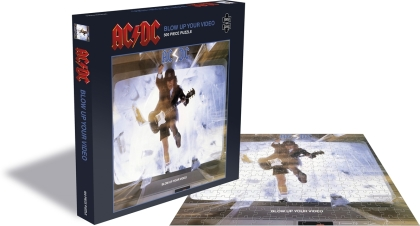 AC/DC - Blow Up Your Video (500 Piece Jigsaw Puzzle)